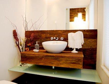Lavabo 014 em madeira de demoli o theodoro m veis r sticos for Lavabos para restaurantes