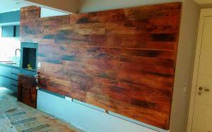 painel madeira de demolição